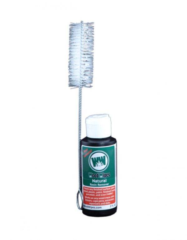 WeedWipes 2oz bottle cleaner and pipe brush