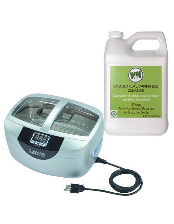 Ultrasonic cleaner for trim scissors