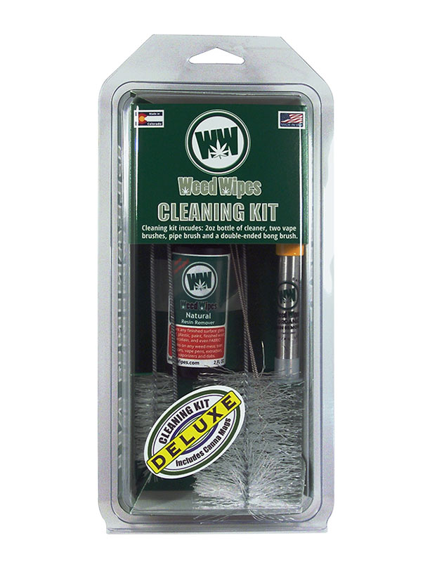 WeedWipes Deluxe Resin Remover Cleaning Kit