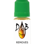 DAB Drops formula 1 Dissolve Dabs from fabric
